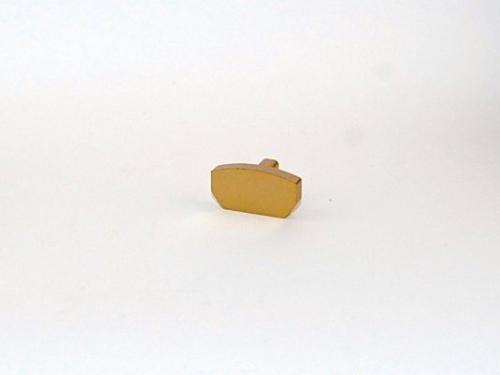 Auksinis bėgelio antgalis