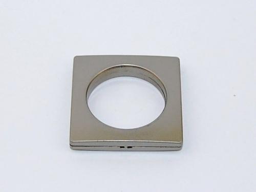 Platininis kalamas žiedas