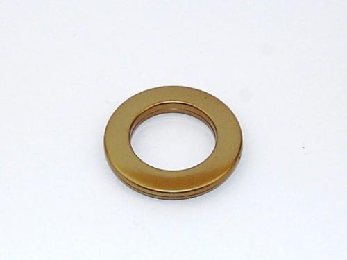 Sendinto aukso kalamas žiedas 45