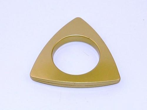 Matinio aukso kalamas žiedas