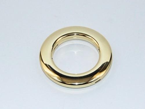 Blizgaus aukso kalamas žiedas 55